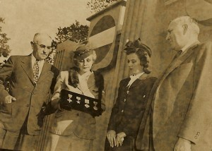 Governer Cherry, Clara Preddy, Rachel Preddy & George Preddy